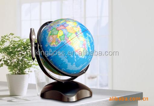 Wereldbol Met Licht : Interactieve spreken wereldbol met licht praten wereldbol met pen