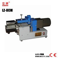 LZ-8cm Wenzhou supplier single side small manual gluing machine for alban