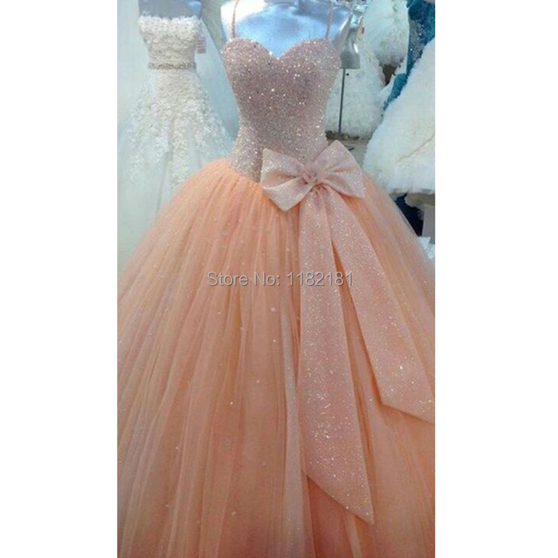 Buy Sweetheart Quinceanera Dress Vestidos Debutante Coral Beaded ...