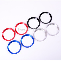 Car Interior Air Conditioning Outlet Vent Ring Trim For Land Rover Defender Aluminum Alloy Car Accessories Parts