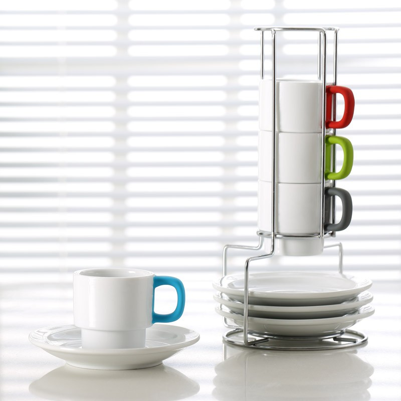 Finest Enchanting Stackable Mugs With Stand Contemporary - Best Image  VA06