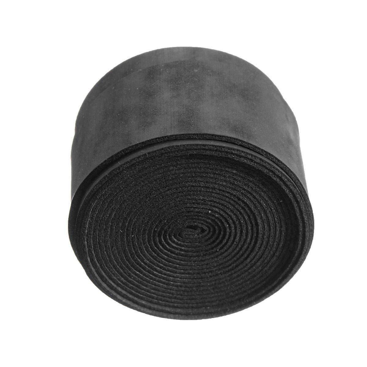 25×1100×0.75mm Anti Slip Tennis Racket Grip Tapes Badminton Racket Squash Tape - Tapes, Adhesives & Sealants Adhesive Tapes - (Black) - 2 X Badminton/Tennis Grip