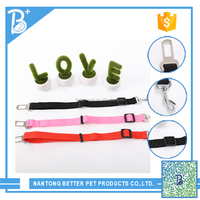 plain nylon dog collars/led pet collar