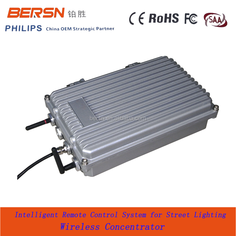 China smart street light led light hid hps lamps radio remote wireless control system monitoring system