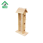 Wholesale Custom Wooden Wild Bird Feeders For Free Birds