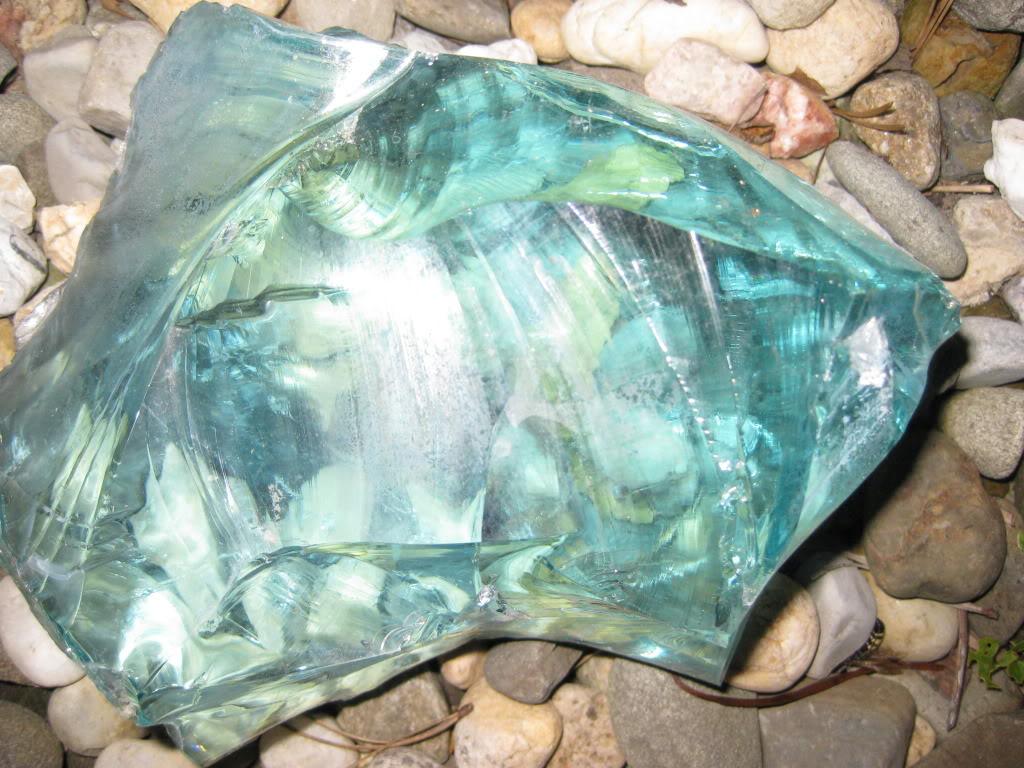 Large Slag Glass Rock For Fence Buy Slag Glass Rock