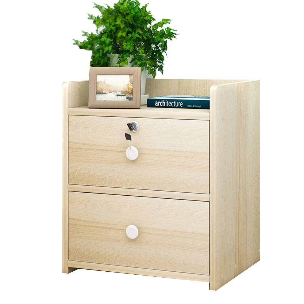 Bookcases Solid Wood Locker Bedside Cabinet Locker Bedroom Bedside Table Drawer Storage Cabinet Open Storage Space Particle Board Storage Cabinet Corrugated Cardboard Packaging
