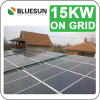 Easy installation 15 kw solar power system home solar energie system