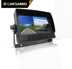 ts766 7 INCH MONITOR WITH DVR/Android system/GPS with camera set