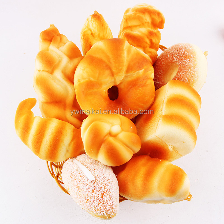 High quality slow rising squishy 10cm squishy melon pan pineapple bread wrist pad pillow reduce pressure toy phone charms gifts