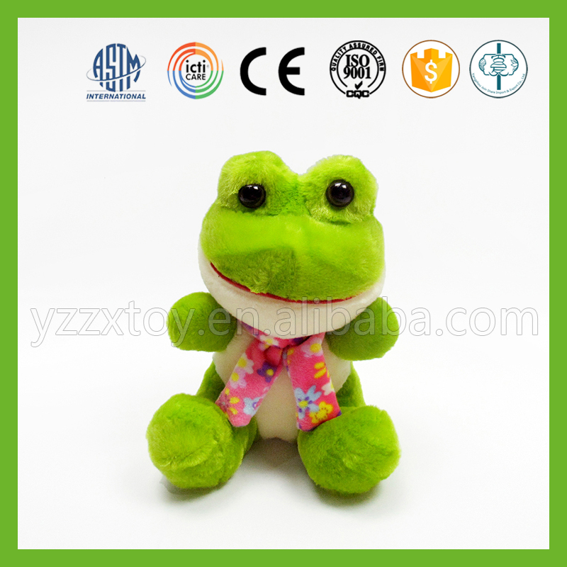 Lovely kids perfect frog plush toy stuffed animals