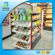 Good Quality mobile phone display shelf used mini supermarket shelf movable cheap corner shelf