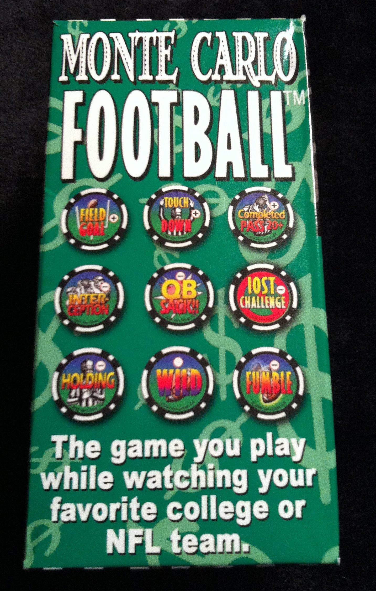 NFL Super Bowl Football Game AFL NFL College Super Bowl Rose Bowl Poker Chip Game