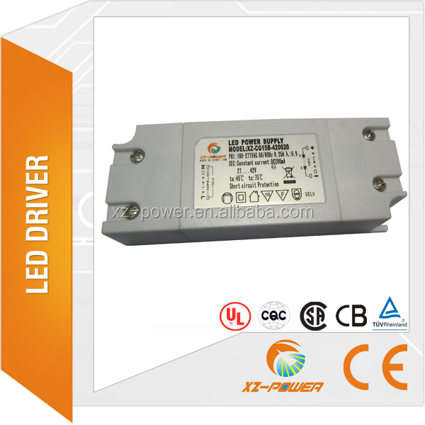 XZ-Power 15W High efficiency led power supply AC to DC Constant Current