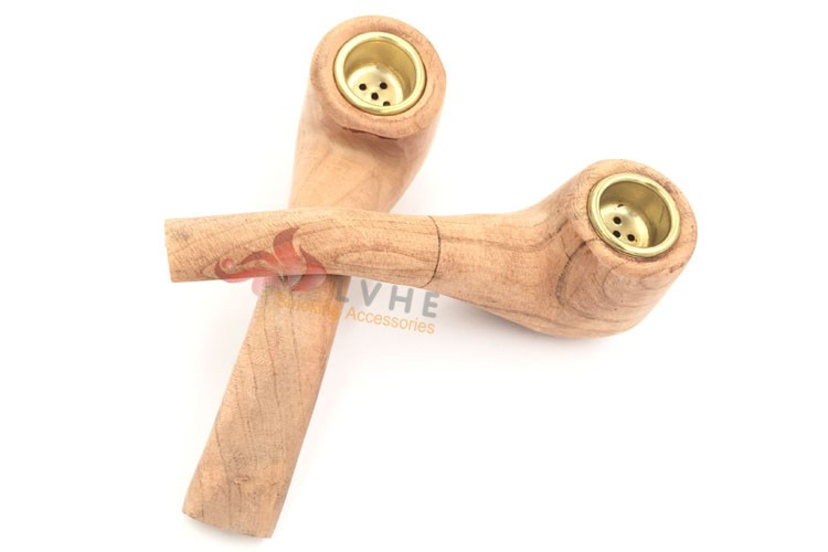 T270PW LVHE Hot Selling Products #2 Solid Wooden Pipe
