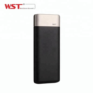 Portable newest 2 usb ports WST power banks 9000mah for mobile phones
