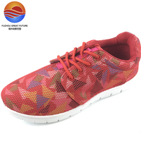 New Arrival Outdoor Comfortable Mesh Upper Lace-up Women Sports Shoes