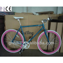 700C colorful frame fixed gear/fixie gear/single speed bicicleta/bike/bicycle/ track