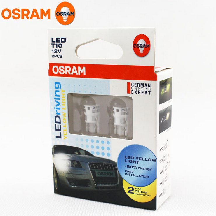 OSRAM Origin W5W LEDriving Lamp T10 W2.1x9.5d Led Bulbs Lights For Cars