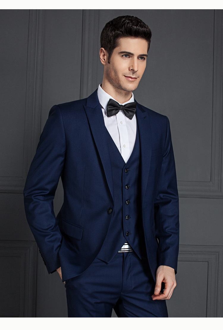 Blue Colour Men Suits Royal Blue Coat Pant View Royal Blue Coat