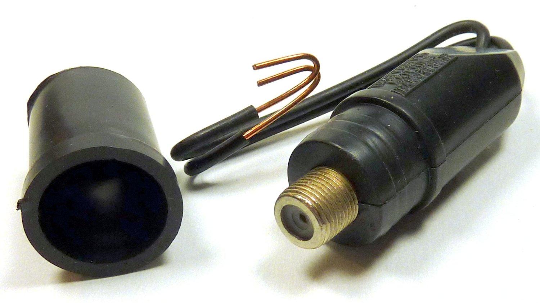Philmore Outdoor TV Antenna Matching Transformer Balun VHF/UHF/FM 300 To 75 Ohm