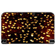 Lots of Hearts and Love Pattern New 3DS XL 2015 Vinyl Decal Sticker Skin by Moonlight Printing