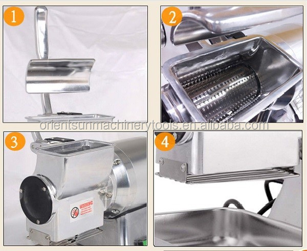 Electric single head cheese grater ,mini cheese grater machine