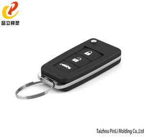China suppliers plastic car key mould injection/ car key molding factory in taizhou