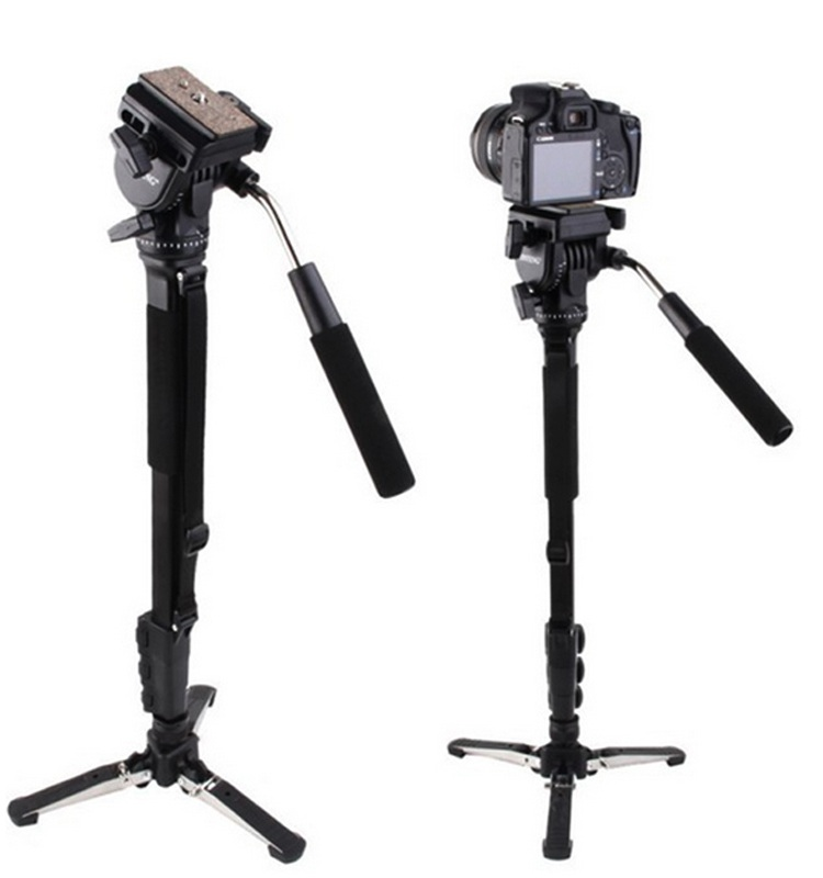 Camera Tripod 288 Monopod 360 Degree Rotating Telescoping Camera Tripod