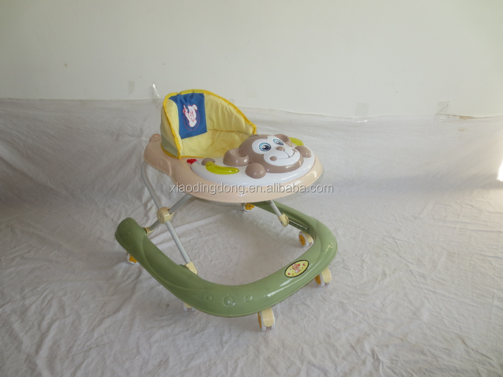 WHOLESALE BABY WALKER NEW MODELS WITH MUSIC AND LIGHT NEW CHEAP PLASTIC BABY MUSICAL WALKER BABY WALKER WITH BRAKES