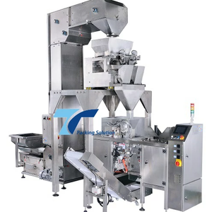 Frozen food packaging system with mini doypack machine
