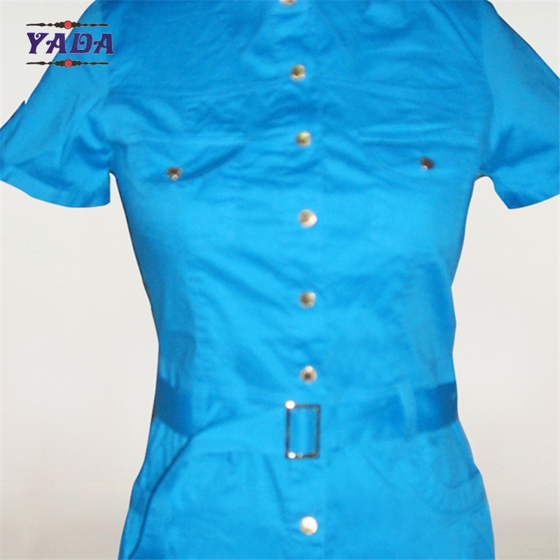 New design pictures office straight blue dress fashion women clothing bulk wholesale dresses for ladies