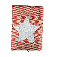 A5 Reversible Magic Sequin Notebook Changing-Color Diary For Women Girls Writing Notebook