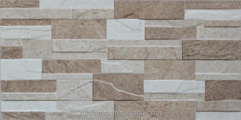 3d digital wall tile ceramics rustic stone outdoor wall - Baldosa ceramica exterior ...