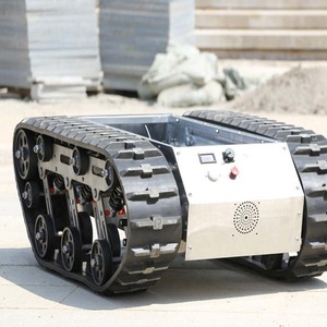 ZHONGYUN Small Robot Rubber Track Chassis For Sale