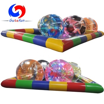 China TOP sale walk on water inflatable water walking ball for water playing games