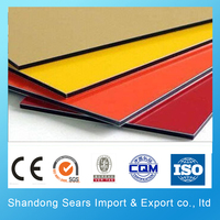 chinese top brand aluminum composite/alucobond aluminium composite panel price/aluminium composite panel price in india