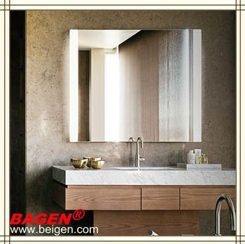 Espelho De Parede Do Banheiro Do Hotel Com Lâmpada Ledespelho De Iluminação Led Bgl 01316 Anos De Fornecimento Para Hotéis Buy Parede Do Banheiro