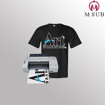 a4 dark inkjet best iron on transfer paper for cotton t shirt