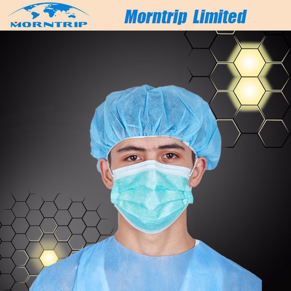 Buy nonwoven Product For Mask Layer Mask White Face Nonwoven surgical Medical - Hospital 3 On Surgical Mask Disposable