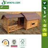 Wood Barn Dog House Outdoor Wooden Pet Home Window Ventilated DFD3012