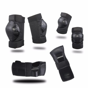 Skateboard Knee Pads and Elbow Pads with Wrist Guards Protective Gear Set