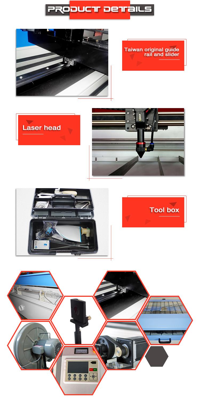 wooden carft co2 laser cutting machine