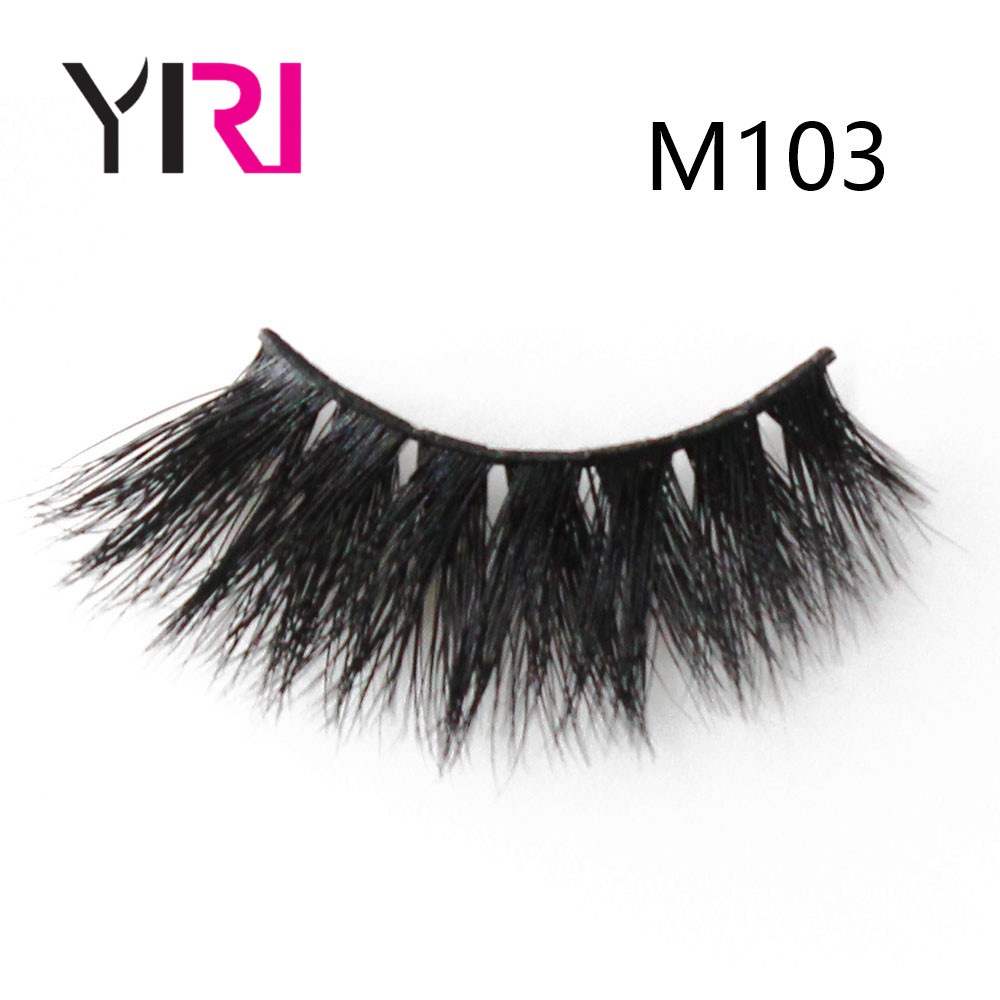 2017 new design 100% hand made individual eyelash mink lovely lashes