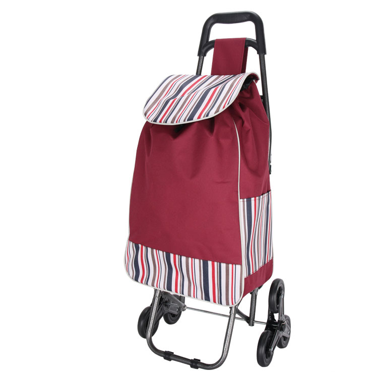 Wheels Supermarket Shopping Cart Bag with seat
