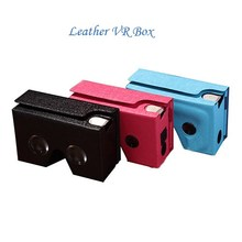 Factory Price VR BOX 2.0 Google Cardboard, 3D Glasses Bluetooth Controller for 4.7 - 6.0 inch Mobile Phone