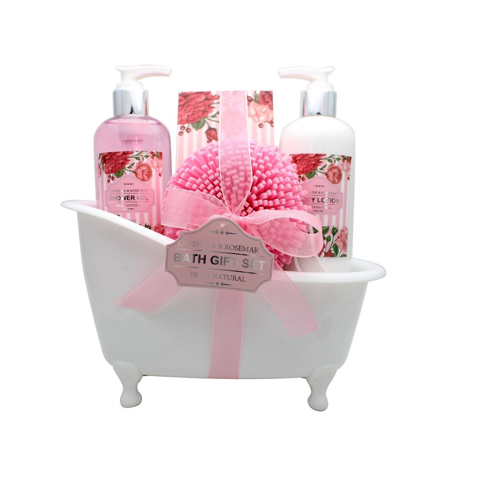 Wholesale Bath Sets Bath Gift Sets Spa Natural With White Bathtub Buy Portable Bath Spa Gift Bath Set Toiletries Gift Set Product On Alibaba Com
