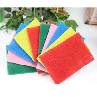 Wholesale Industrial Abrasive Scouring Pad fine/medium/coarse grade Nylon cleaning scouring pad for Polishing & Grinding