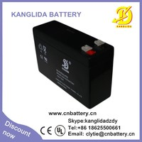 12v 7ah deep cycle rechargeable security battery