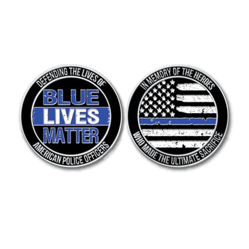 custom gold eagle usa national nypd thin blue line challenge emblem coin,  View thin blue line challenge coin, Firebird Gifts Product Details from
